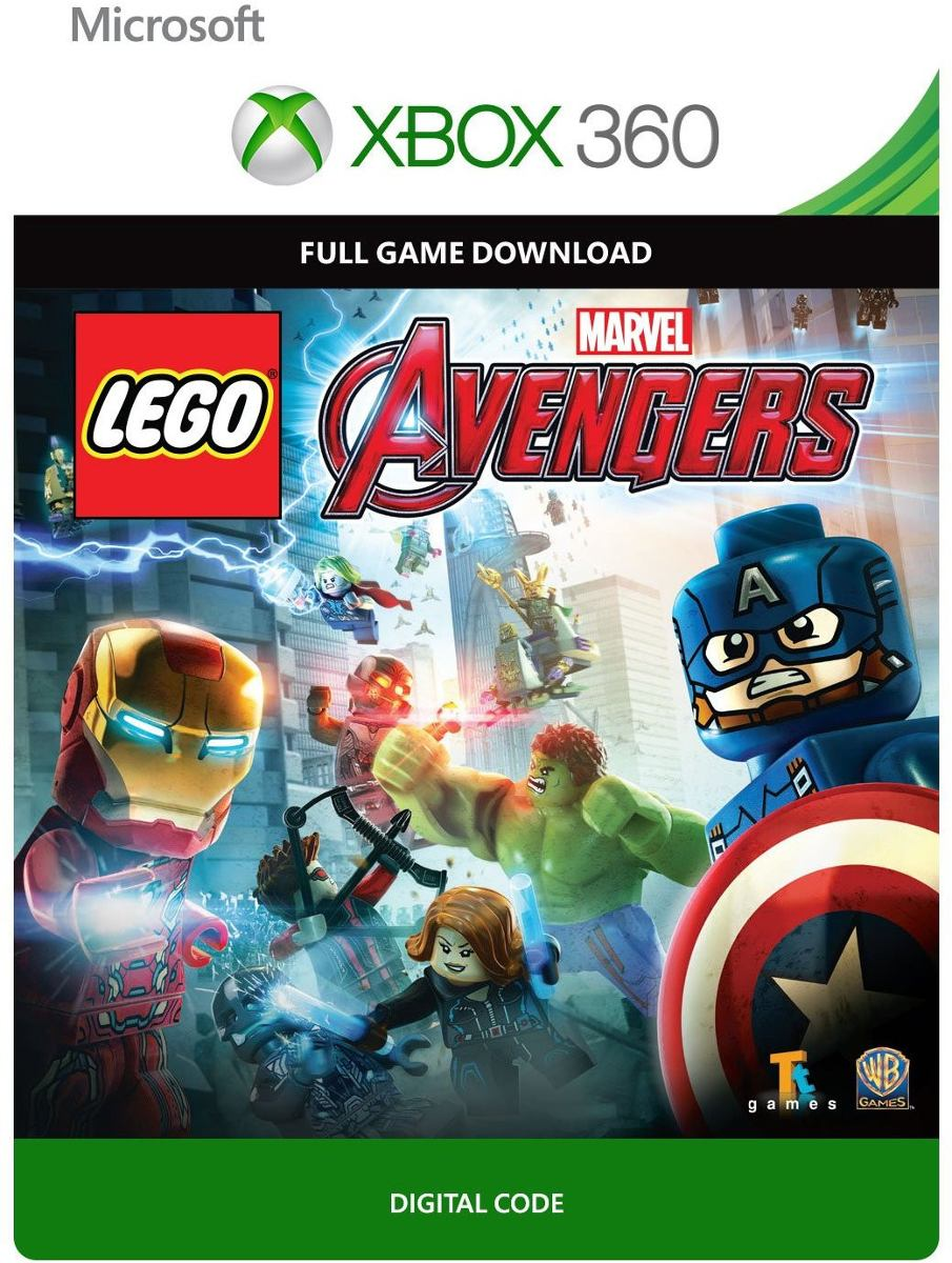 Lego marvel 39 s vingadores xbox 360 codigo 25 digitos r for Codigos de lego batman