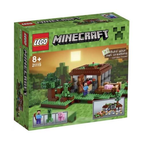 lego minecraft 21115 la primera noche