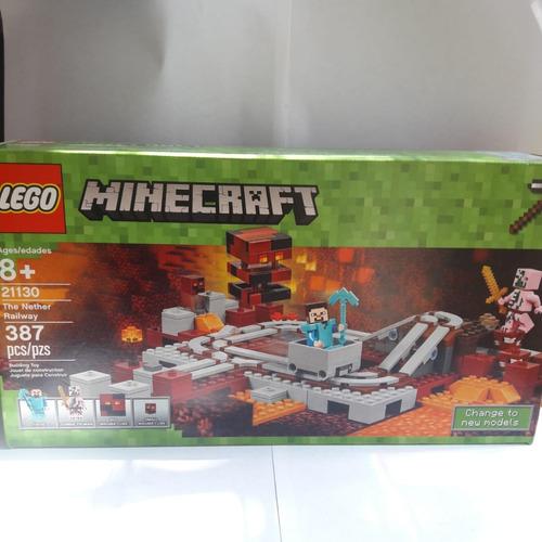 lego minecraft 21130 - the nether railway - nuevo y sellado
