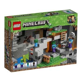 Lego Minecraft 21141  La Cueva De Zombies Stock Enviogratis