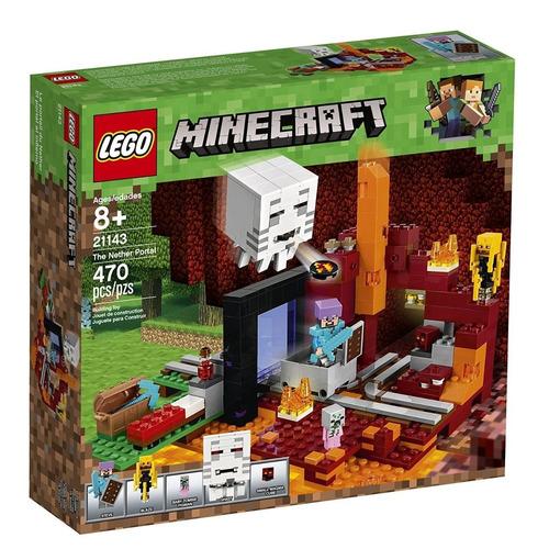 lego minecraft - 21143 el portal al infierno