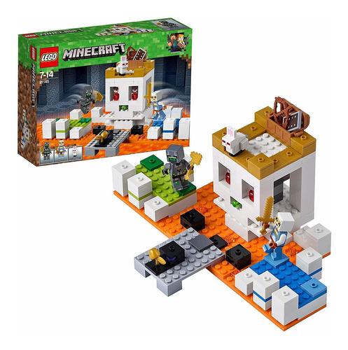lego minecraft 21145 de 198 piezas.