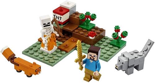 lego minecraft 21162  the taiga adventure cuotas sin interes