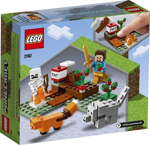 lego minecraft 21162 the taiga adventure envio gratis