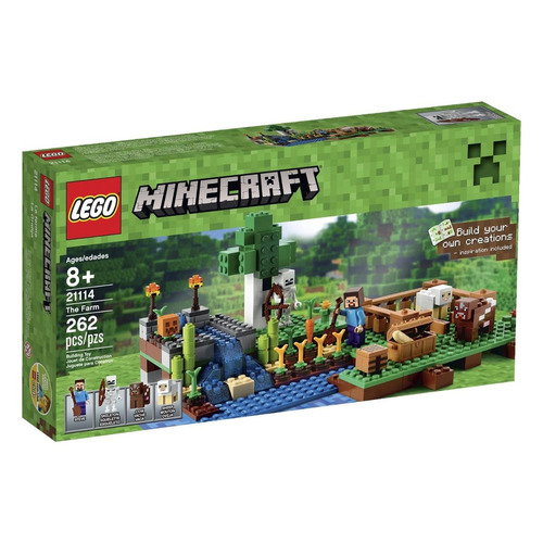 lego minecraft creative adventures the farm modelo 21114