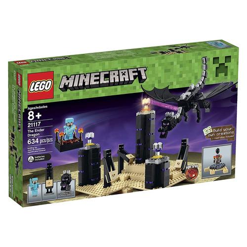 lego minecraft dragon ender 21117