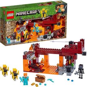 Lego Minecraft: El Puente Del Blaze(372piezas)