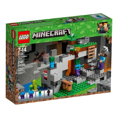 lego® minecraft - la cueva de los zombis (21141)