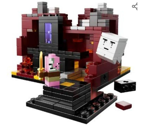 lego minecraft micro world - the nether #21106