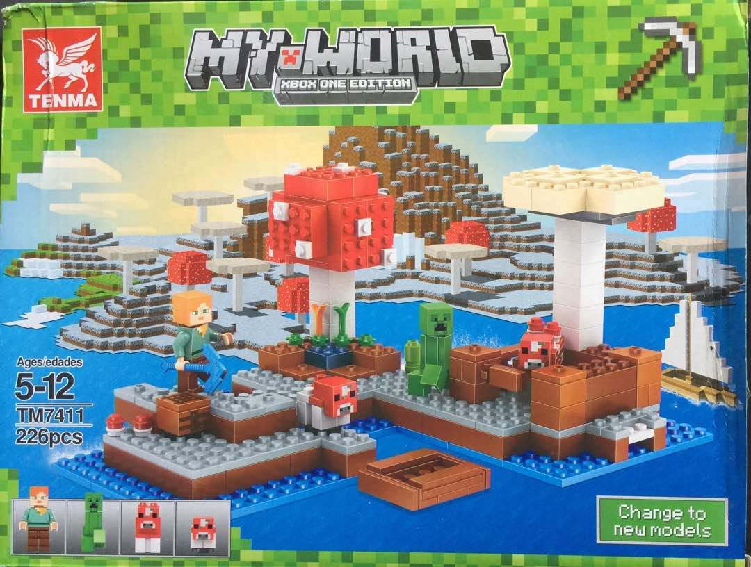 Lego minecraft my world de tenma de 226 bs for Lego world craft