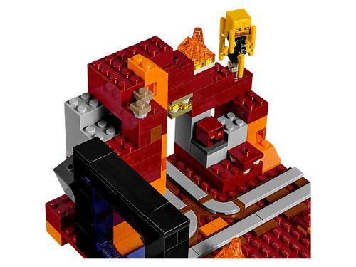 lego minecraft - portal nether - 21143