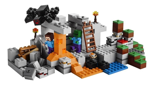 lego minecraft the cave modelo 21113