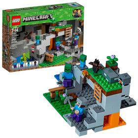 Lego Minecraft The Zombie Cave 21141 Building Kit (241 Piece