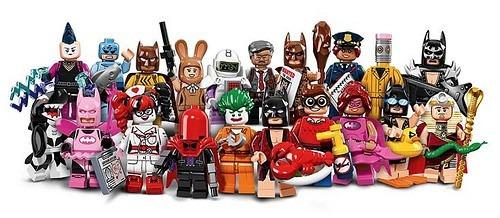 lego minifiguras batman movie la colección completa!