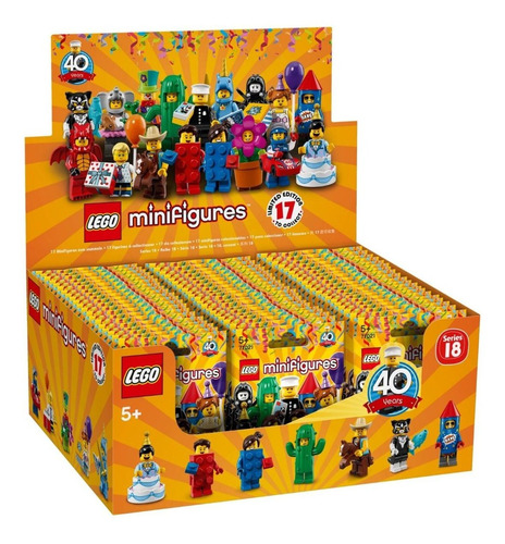 lego minifiguras: serie 18