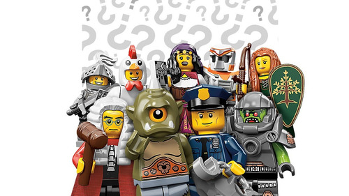 lego minifiguras serie 9 - heroic knight