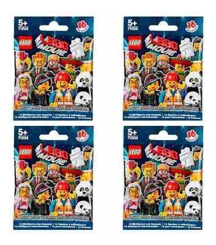 lego minifigures - the lego movie series 71004 (cuatro!