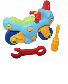 T05 Lego Bebe Juguete Moto Juego Carro Didactico Niños nX8NOw0Pk