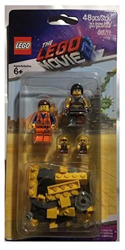lego movie 2 minifigure pack 853865 sewer babies, emmet and