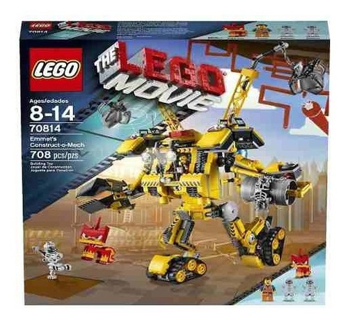 lego movie 70814 set constructivo emmet's construct-o-mec!