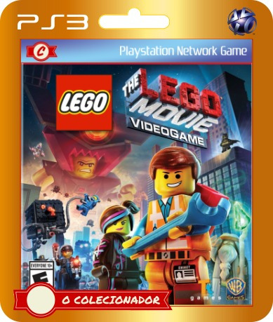lego movie: the videogame (cód id ps3)