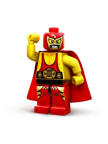 lego movie wrestler el macho luchador legobricksrfun