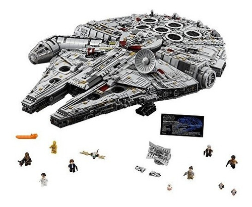 lego nave espacial millennium falcon 75192 star wars kit de