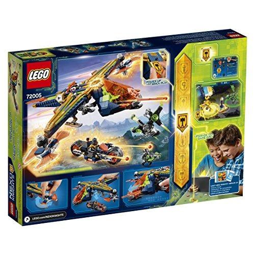 lego nexo knights aaron's x-bow 72005 kit de construcción
