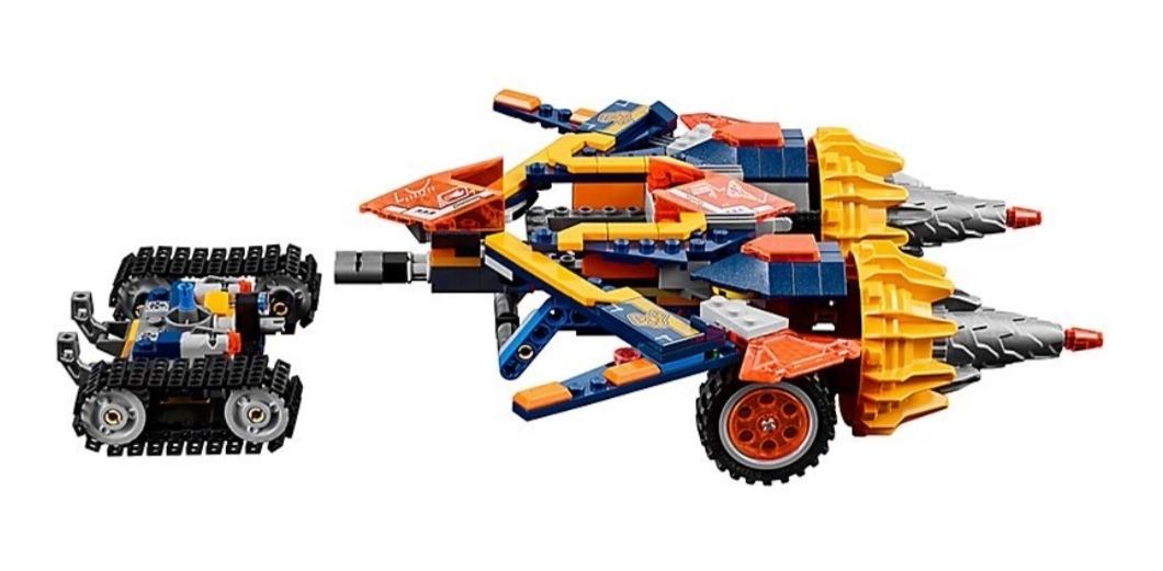 NUEVO Nexo Knight Doble Perforadora LEGO