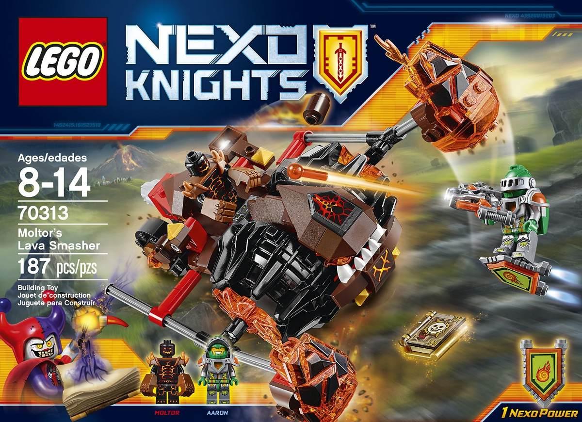 Moltor/'s lava Smasher-totalmente Nuevo Lego nexo Caballeros 70313