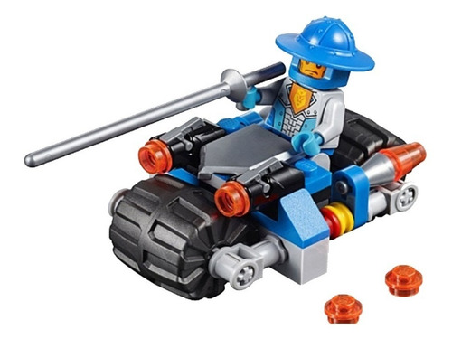 lego - nexo knights, knight's cycle. 30371.