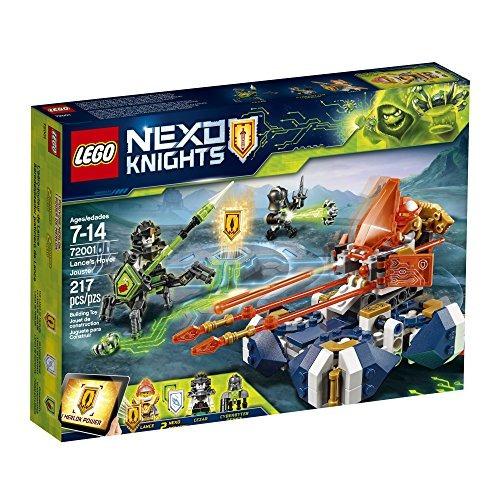 lego nexo knights lance's hover jouster 72001 kit de co