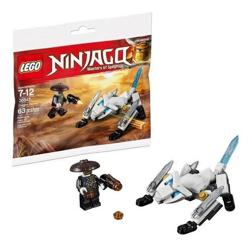 lego ninjago 30547 personaje y dragon 63 pzs+ librito nº 10