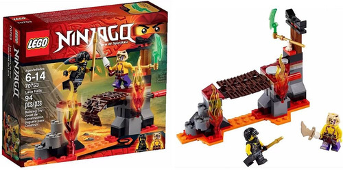 lego ninjago 70753 cataratas de lava