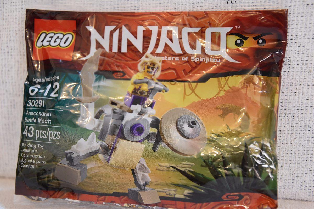 Anacondrai Ninjago 30291El Mech En Lego Unico Mercado LR5jc34AqS