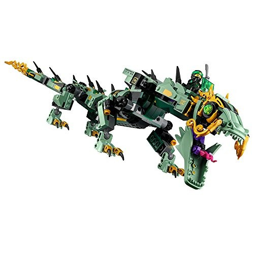 lego ninjago movie green ninja mech dragon 70612 kit de cons
