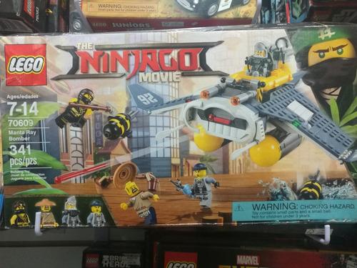 lego ninjago movie manta ray bomber 70609
