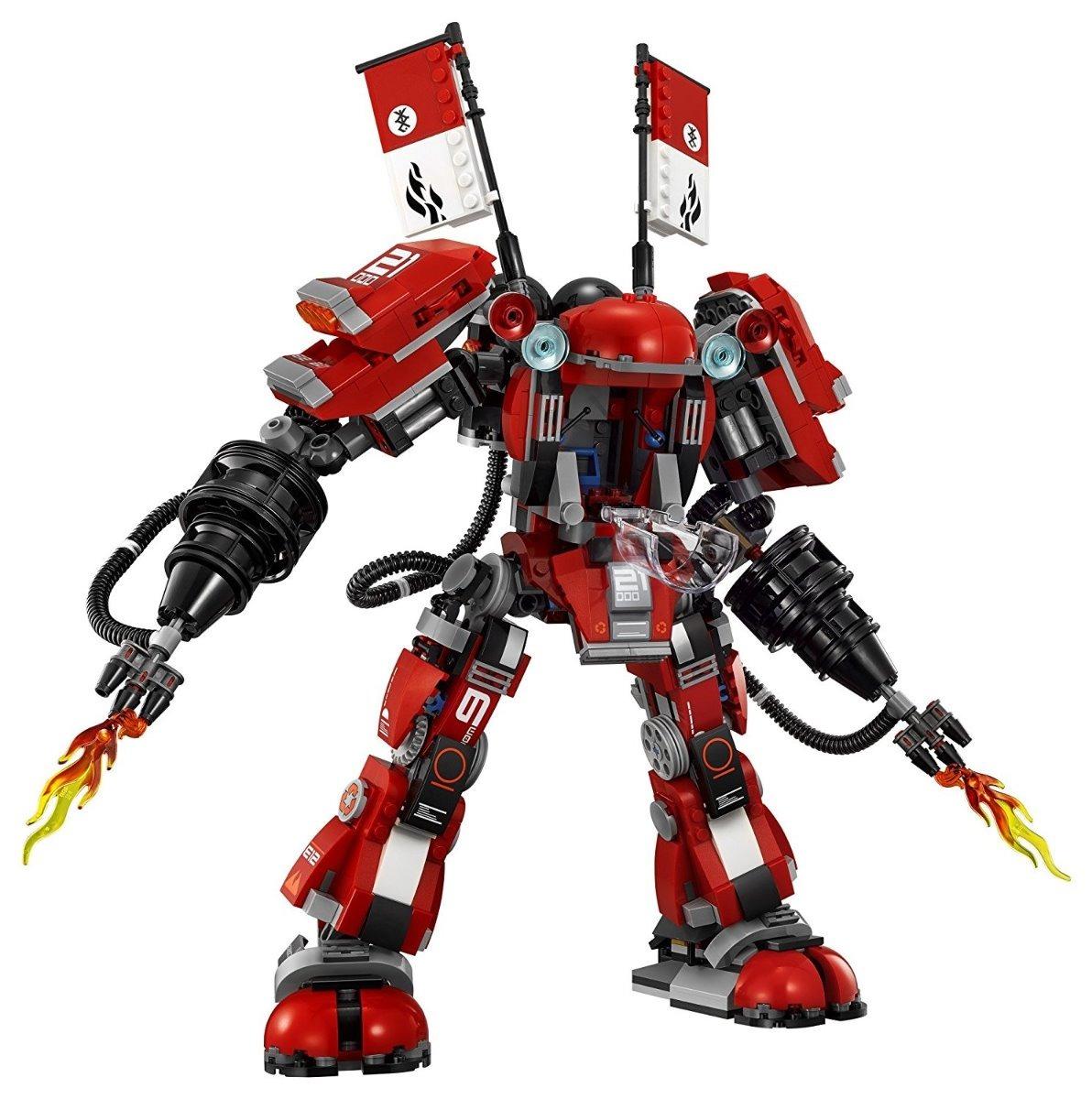Lego Ninjago Movie Robot Del Fuego Fire Mech Con 944 Pzas
