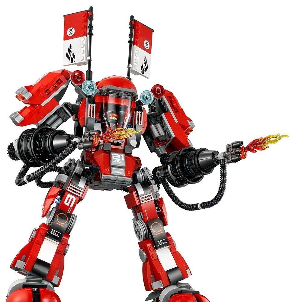 Lego Ninjago Movie Robot Del Fuego Fire Mech Con 944 Pzas ...