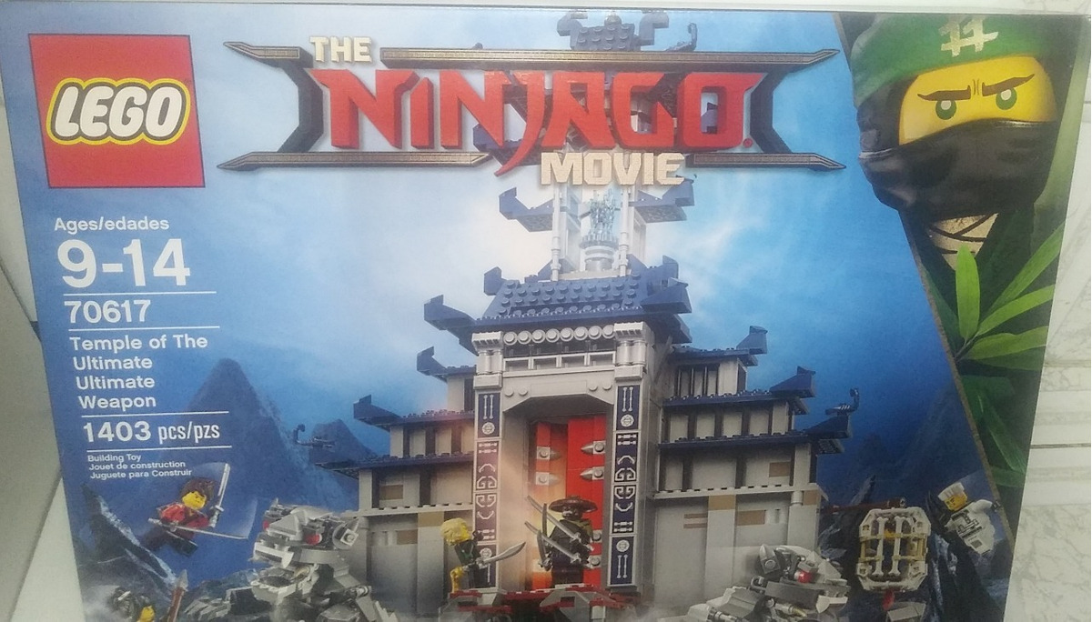 Lego Kit Temple Constr Movie Armon Ultimate Ninjago De 70617 wZilkPOXuT
