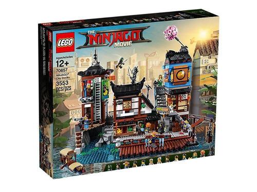 lego ninjago muelles de la ciudad de ninjago 70657