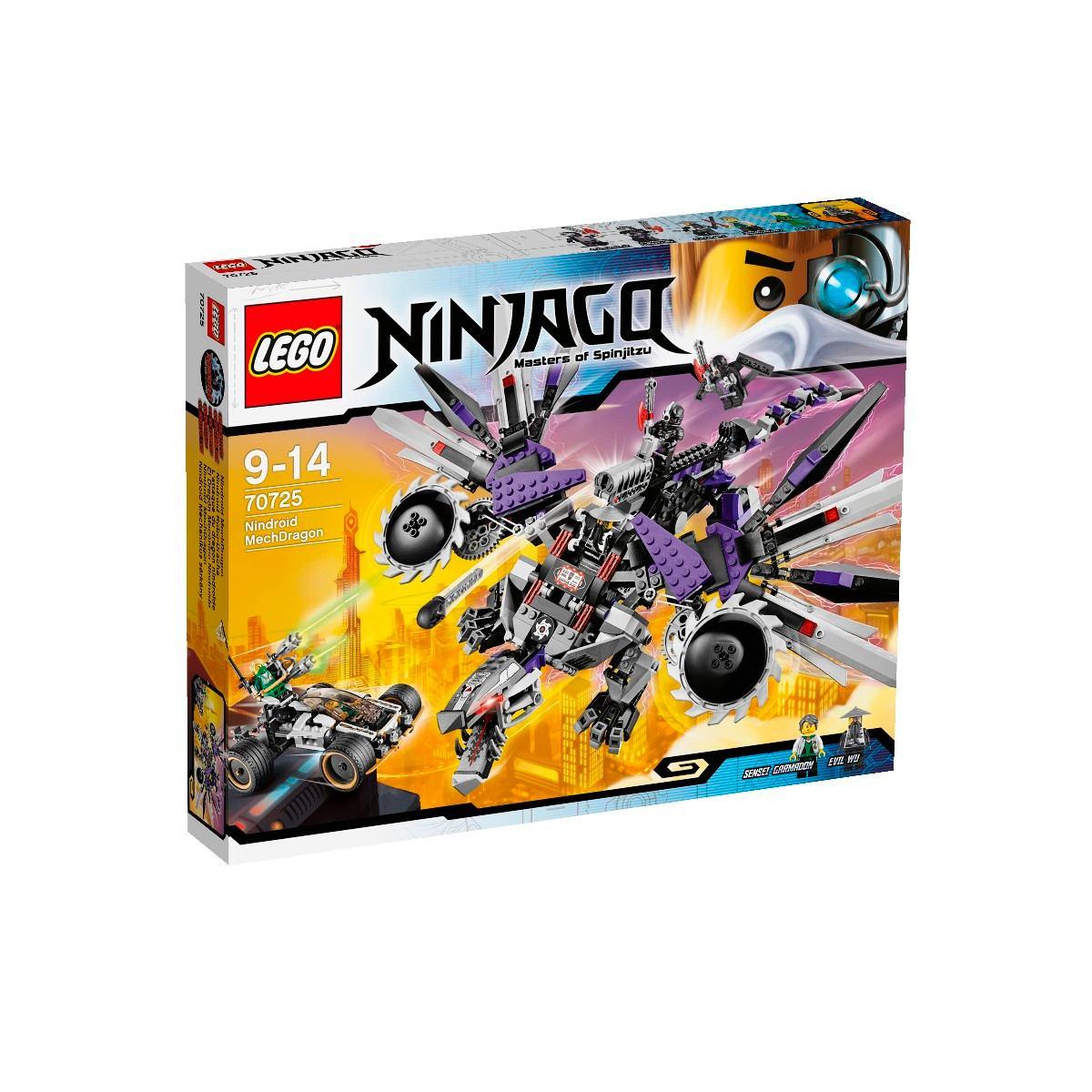 Lego ninjago rebooted 70725 el drag n mec nico nindroide - Lego ninjago d or ...