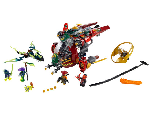 lego ninjago: ronin r.e.x.
