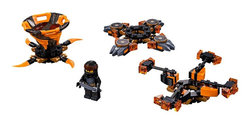 lego ® ninjago - spinjitzu cole