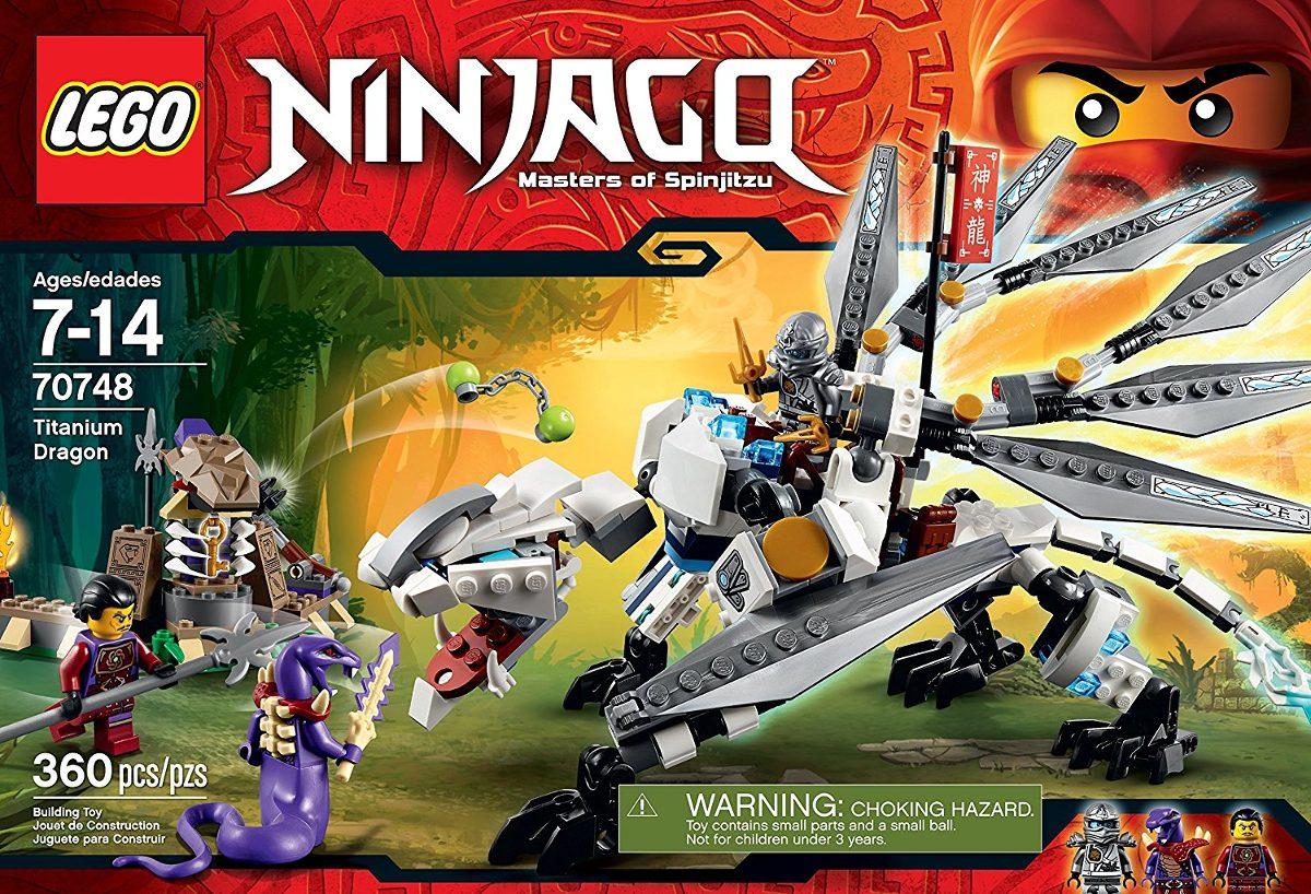 Lego Servicio Ninjago Titanio De Juguetefuera Por E Dragón 0wyN8Ovmn