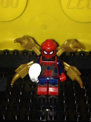 lego original marvel infinity war spiderman ( completo )