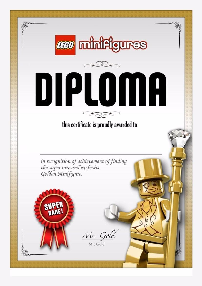 Lego Original Mr. Gold Series 10 - Raridade/edição ...