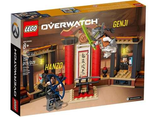 lego overwatch: hanzo vs. genji + taller construye y arregl