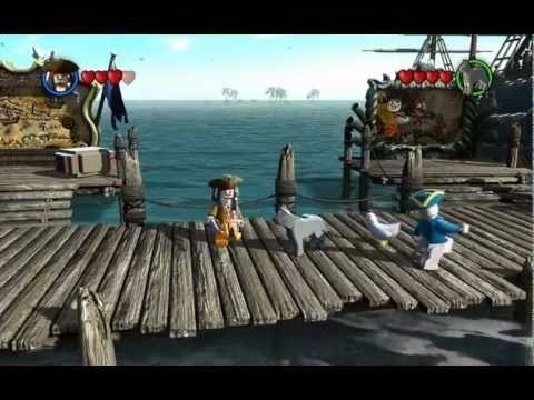 lego piratas do caribe pirates caribbean nintendo 3ds novo