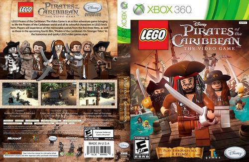 lego - piratas do caribe - xbox 360 - desbloqueio lt3.0(dvd)